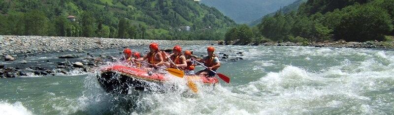 Fırtına Deresi'nde Rafting