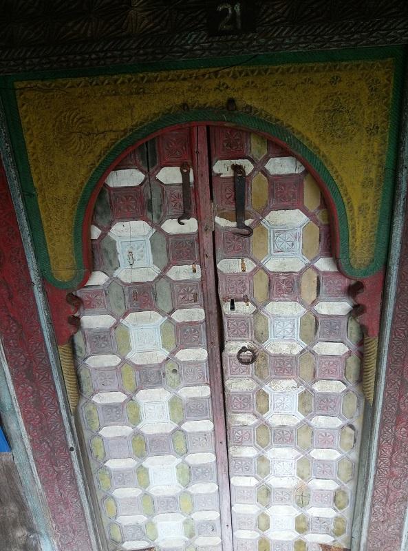 Çivisiz Cami Ana Giriş Kapısı