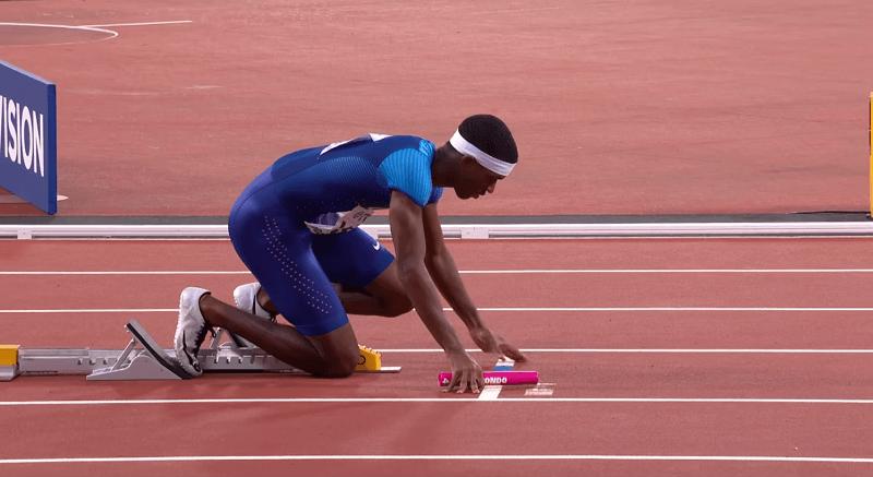 atletizmde bayrak yarışı