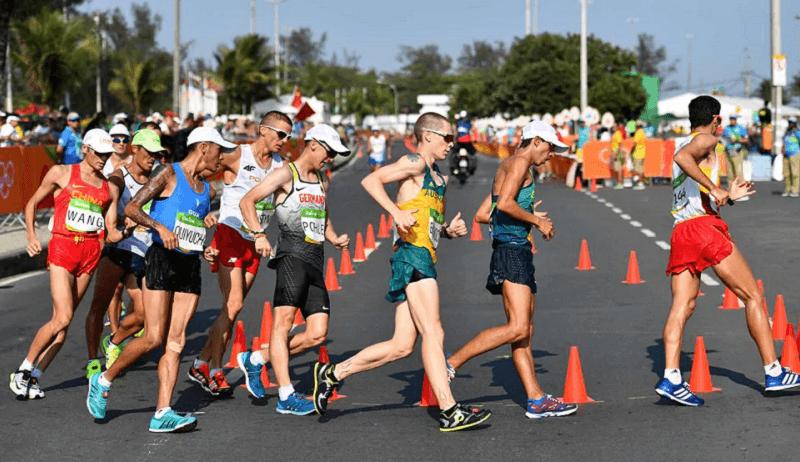 atletizmde yürüyüş branşı